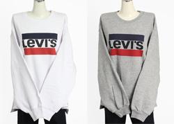 Levi´s ® Damen T-Shirt Top Shirt Bluse PERFECT TEE BETTER WING SMOKESTAC 17369-0
